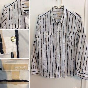 MICHAEL Kors Button Down Dress Shirt